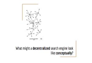 Decentralized structure